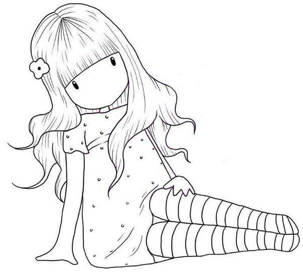 Февраля, картинки черно белые для распечатки прикольные для девочек