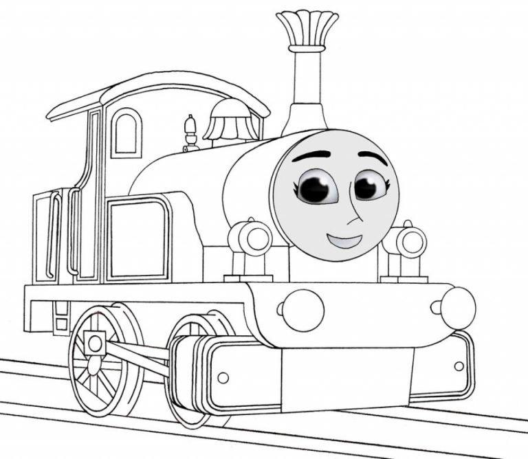 картинки для раскраски с томасом кои онези модели