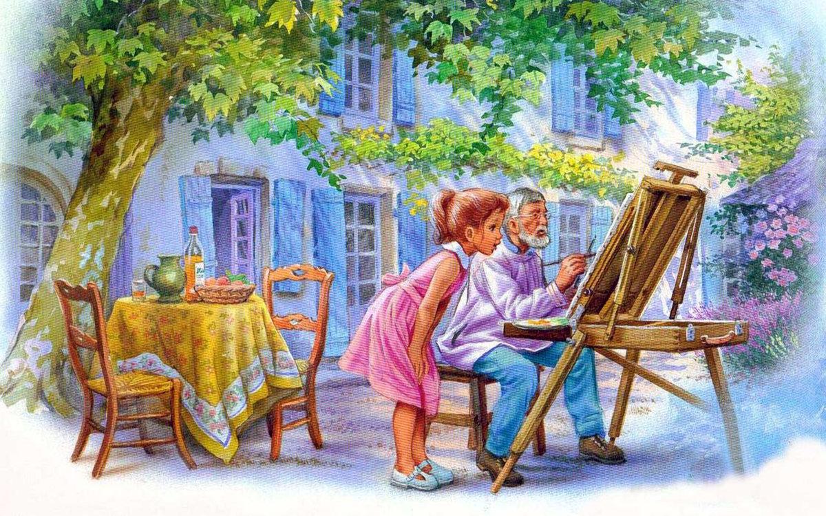 Картинки, как называются художники рисующие картинки к тексту