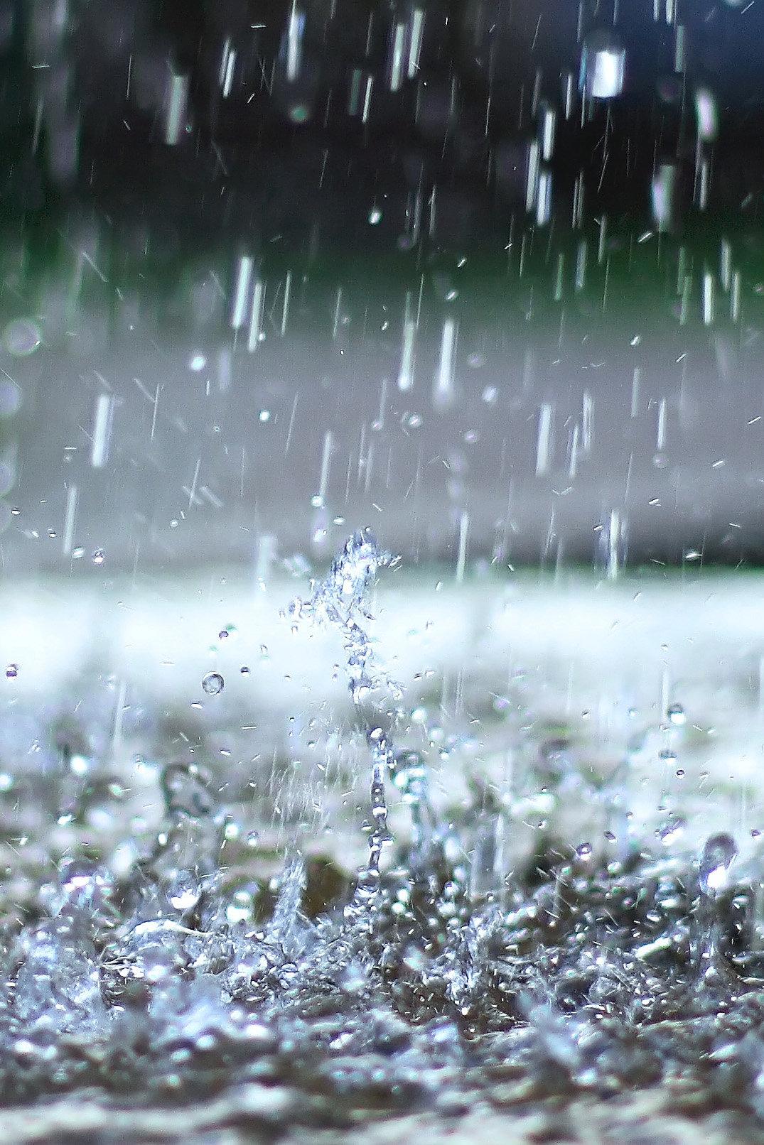 должны картинка красивая с дождиком встретил