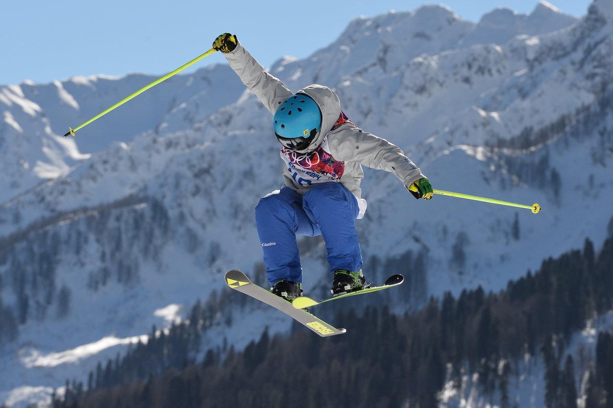 Картинки горные лыжи фристайл