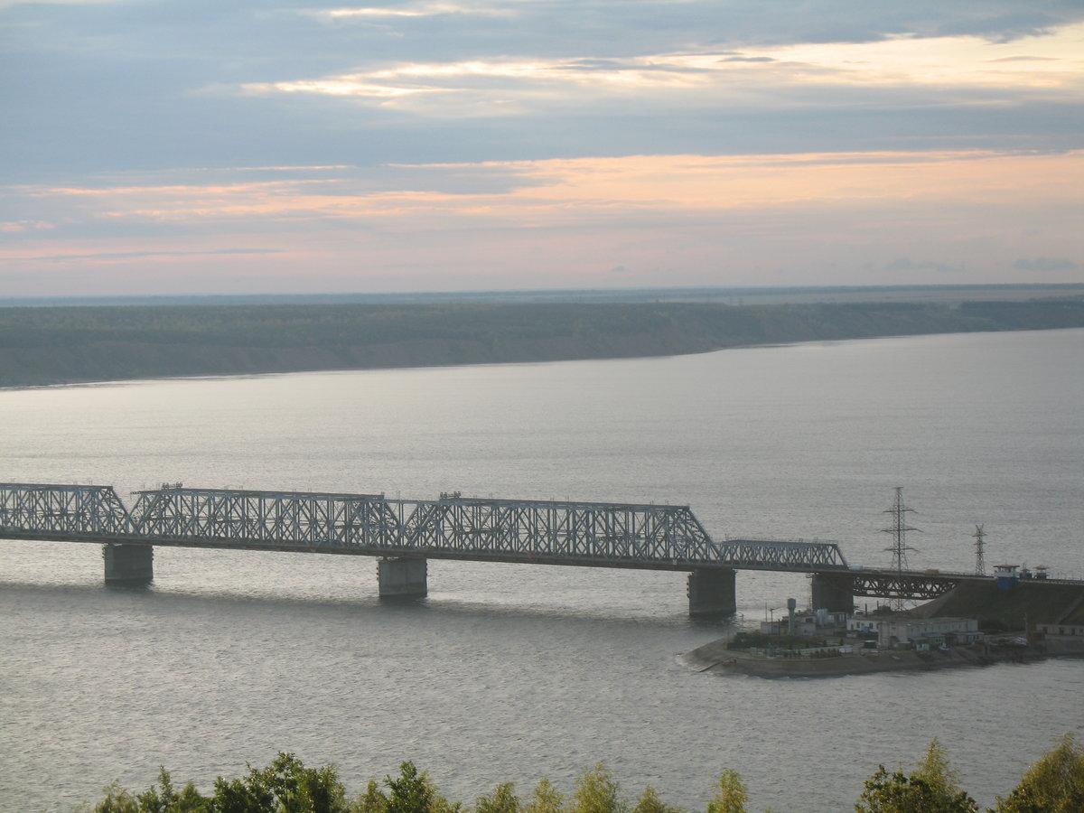 императорский мост река волга фото рестораны уссурийска удобным