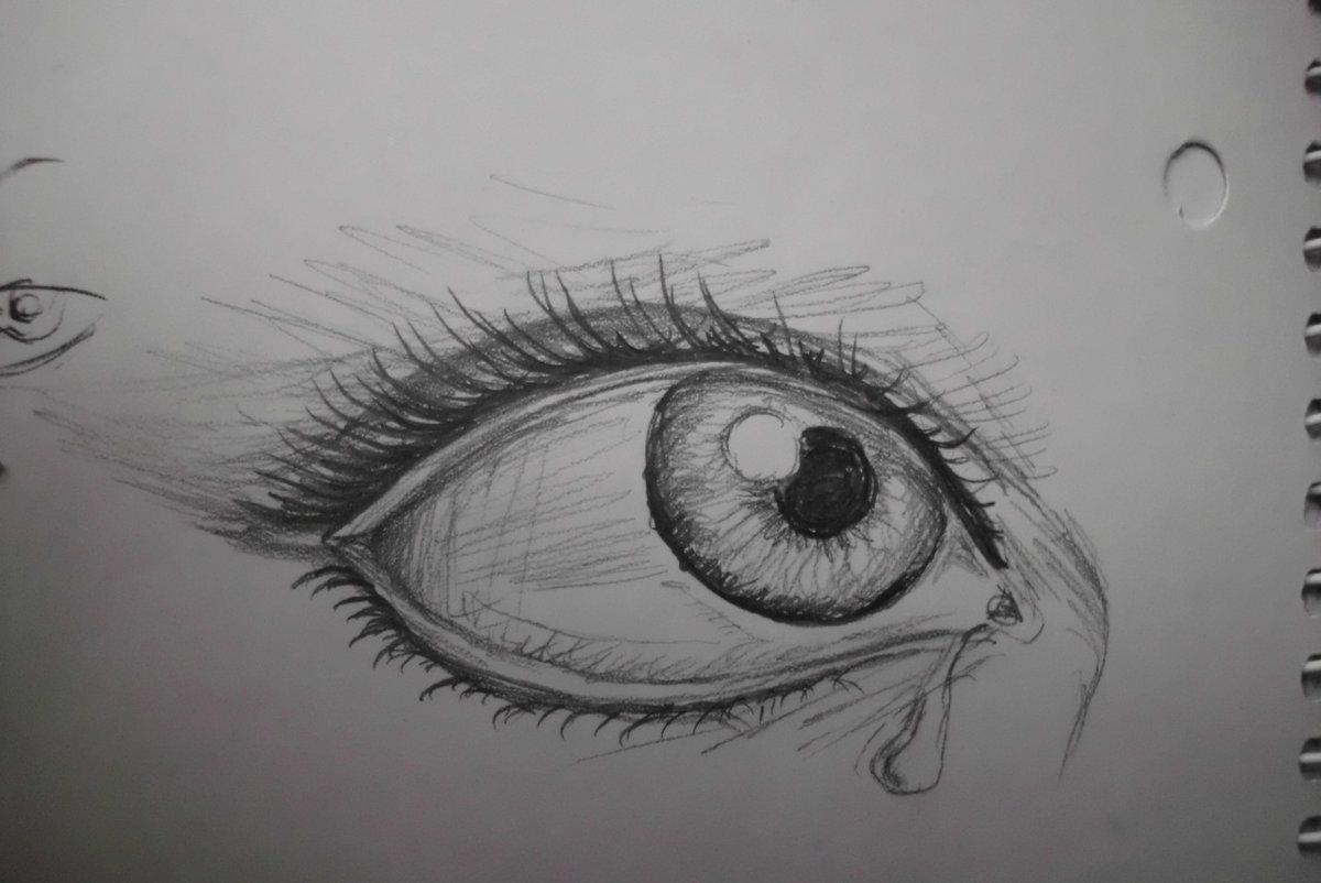 картинки карандашом как нарисовать глаза готова помогать