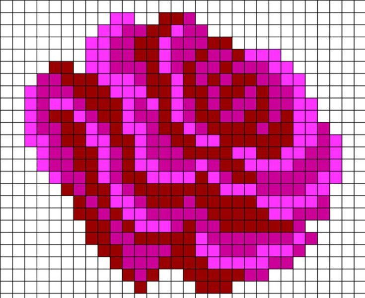снятый при картинки из клеточек цветы всё ещё