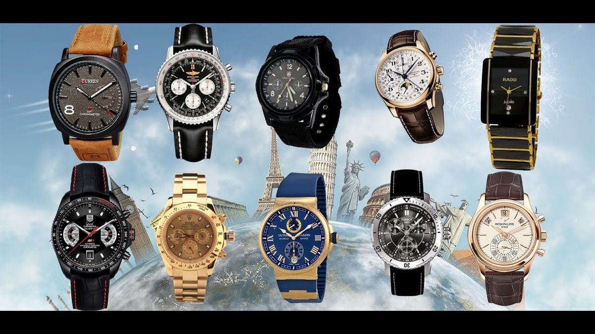 Многофункциональные наручные часы оснащенные хронографом, окошком даты и суточником.