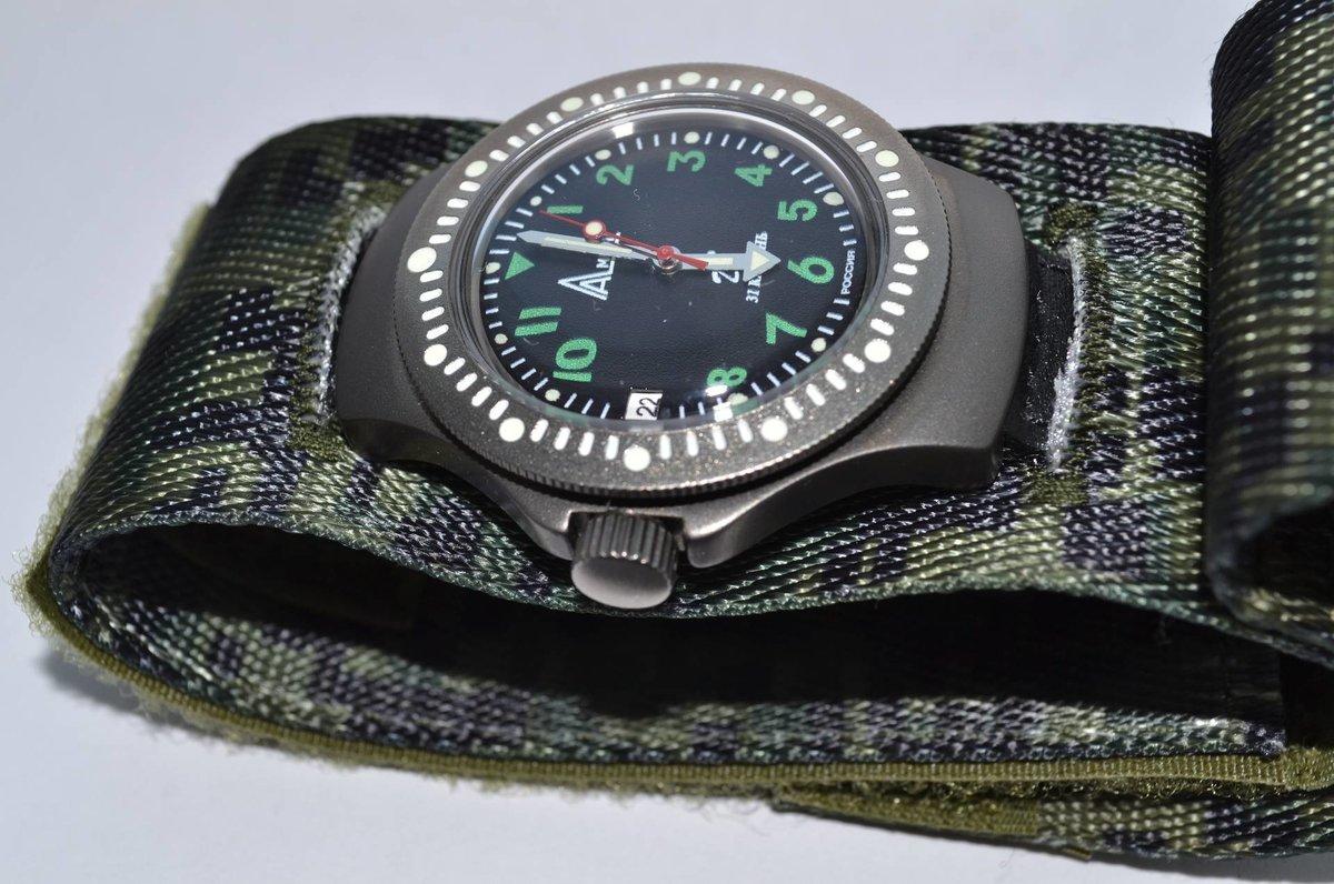 Восток-дизайн часы армейские (ратник) 6э состояние: новый товар.