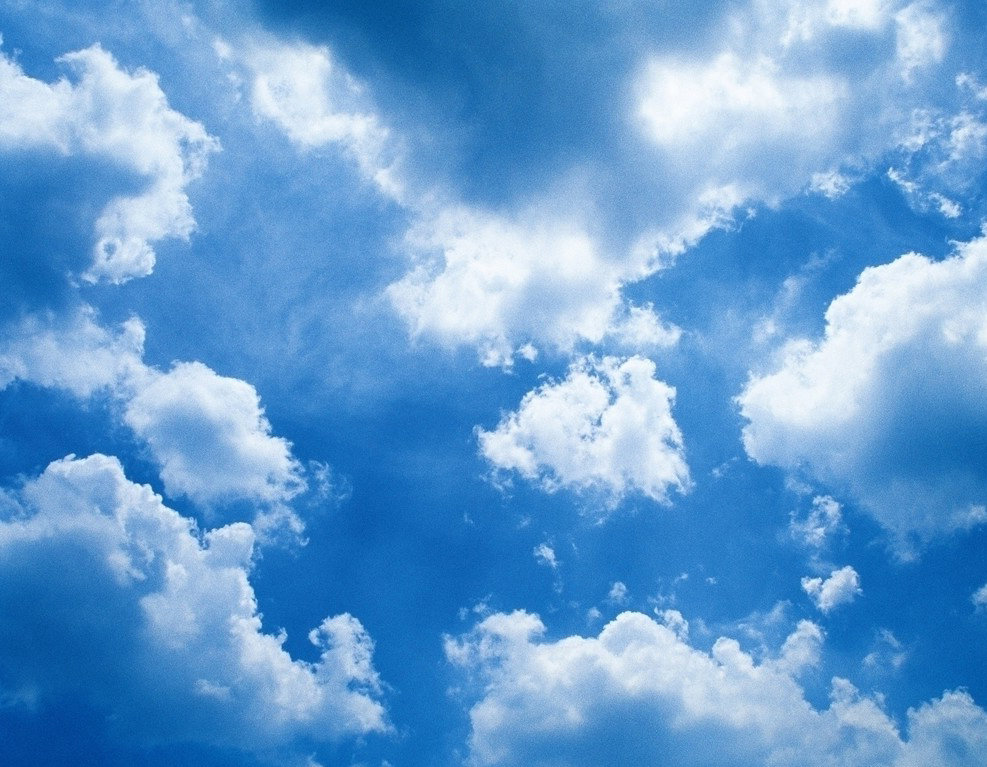 Картинки анимация живые облака