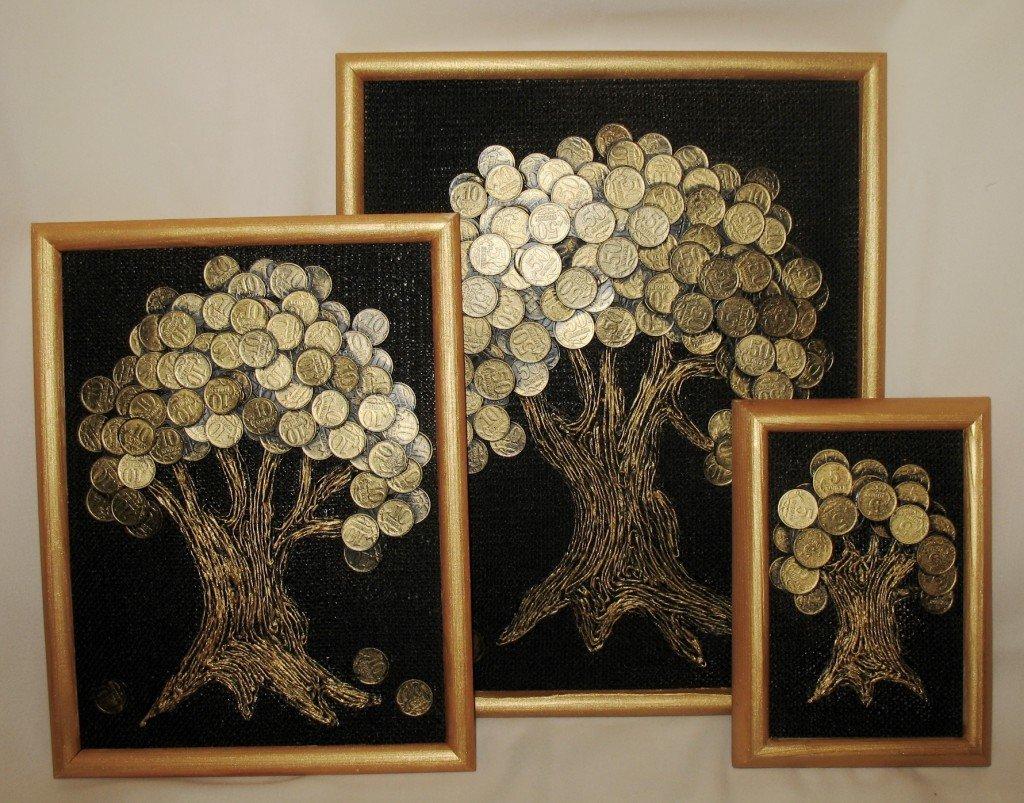 Денежное дерево постер