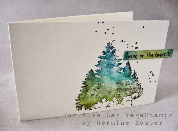 Картинках, акварельная открытка с новым годом