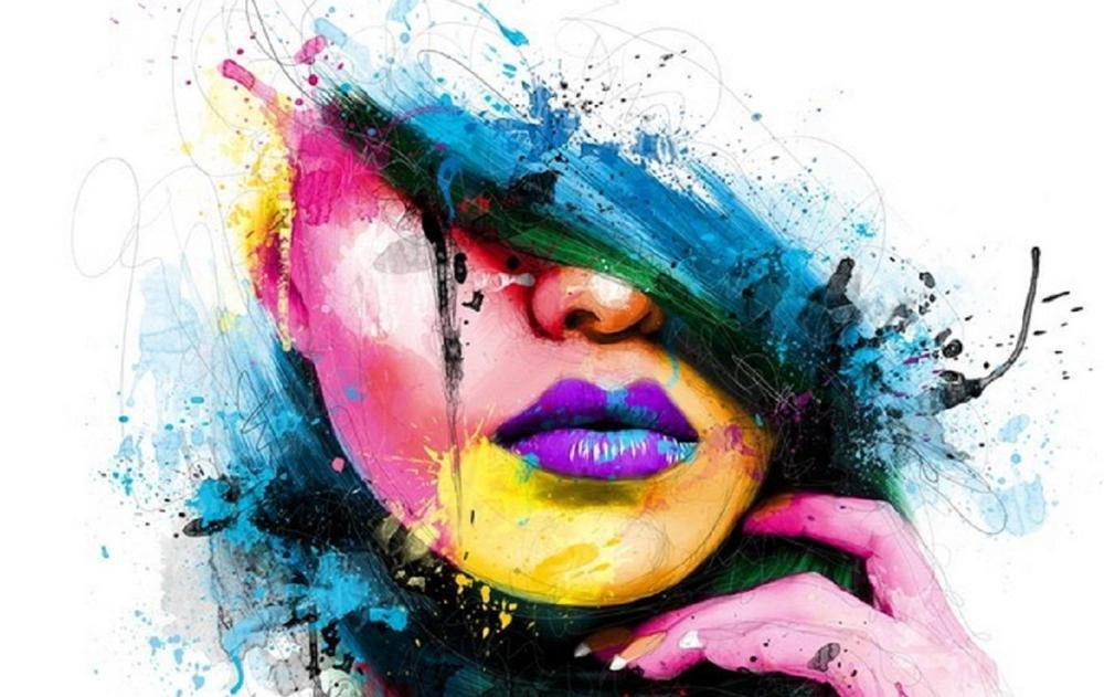 Крутые картинки с краской, открытка