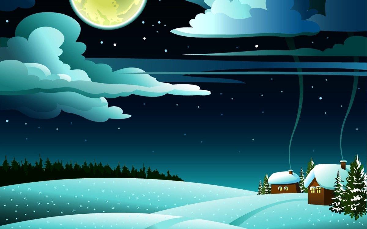 Рождением внука, ночное небо рисунок для детей