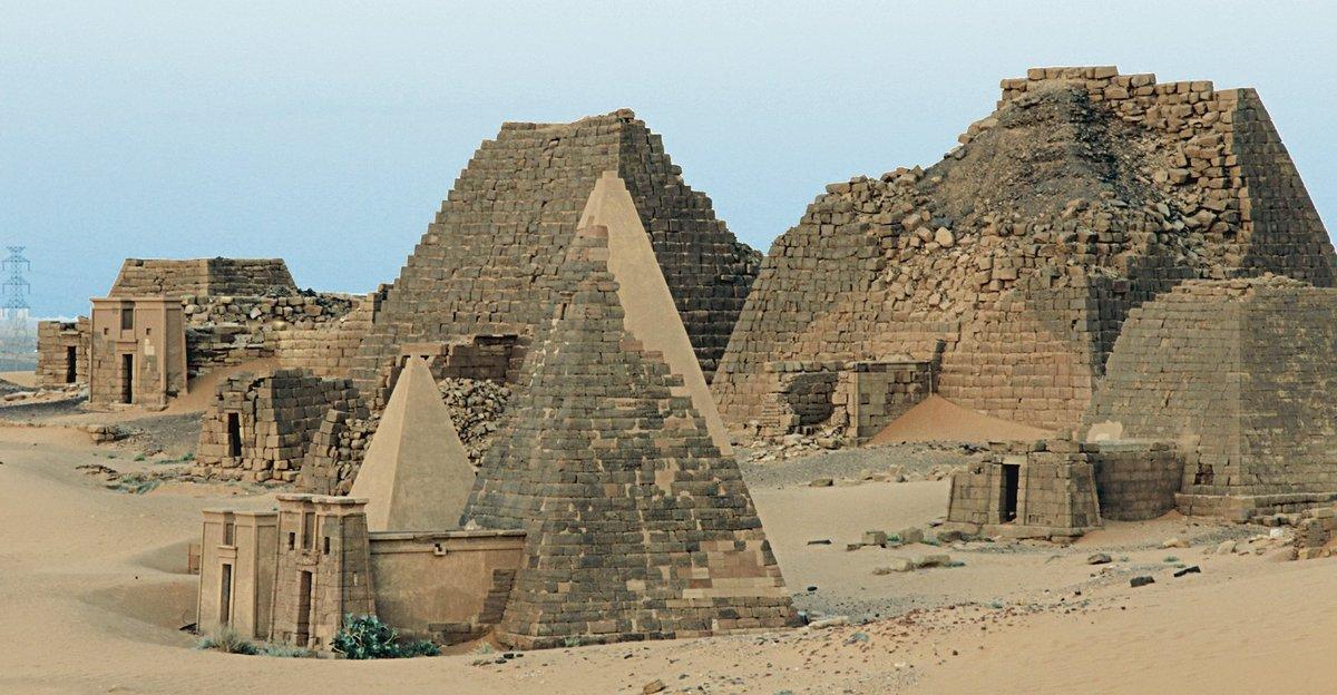 судан пирамиды фото приманки