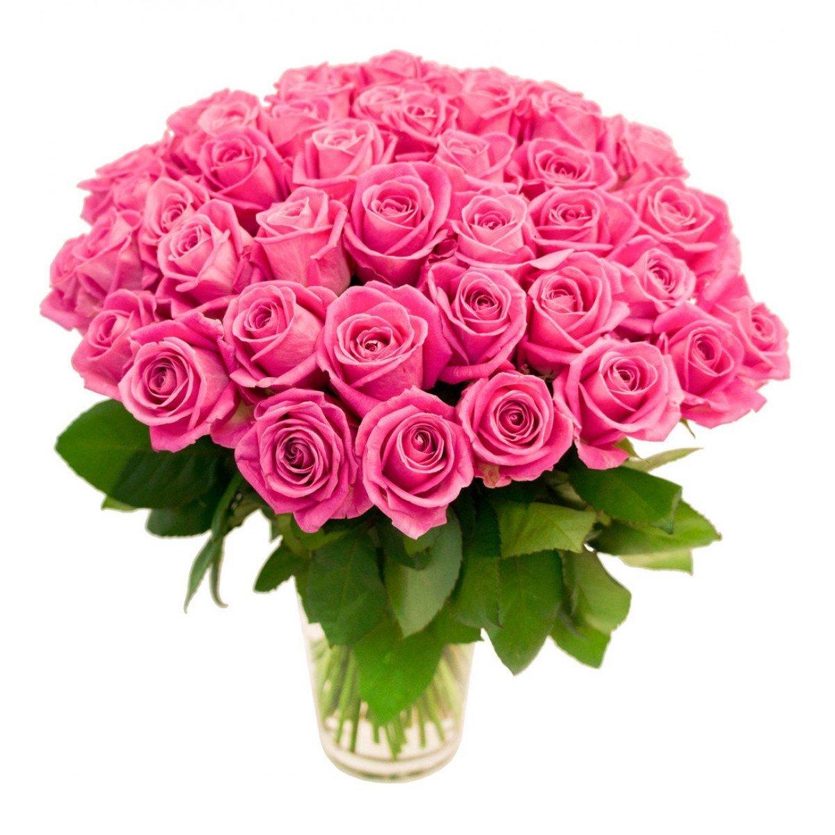 Картинки букет розовых роз, днем рождения картинки