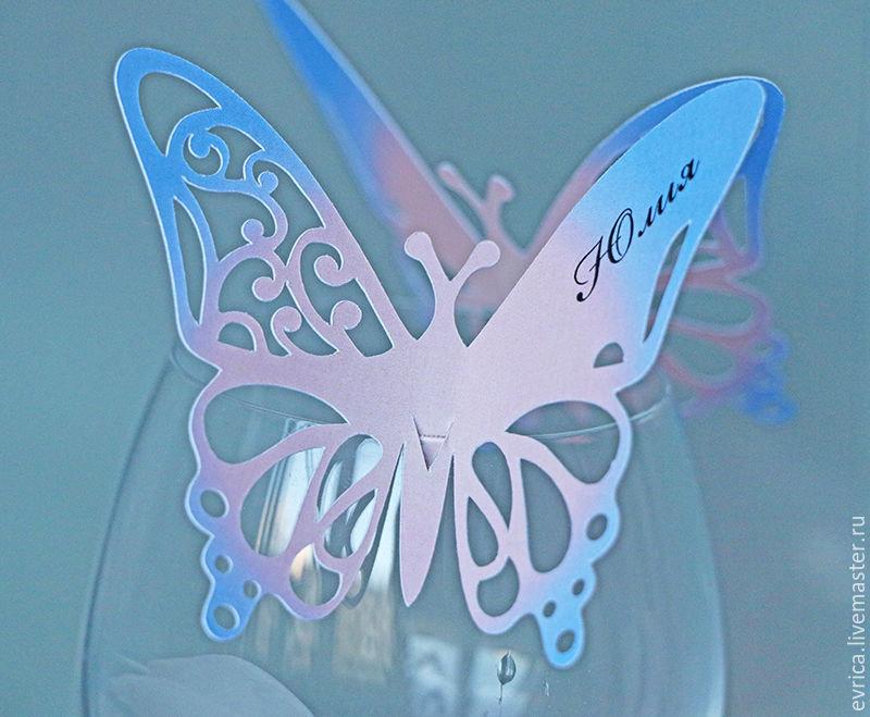 Первая младшая, открытки виде бабочки