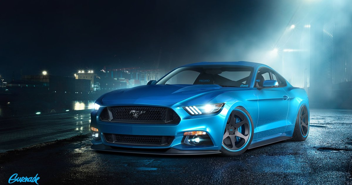 Ford Mustang Gt Blue Supercar 4k Iphone Wallpaper 4k Cars Card