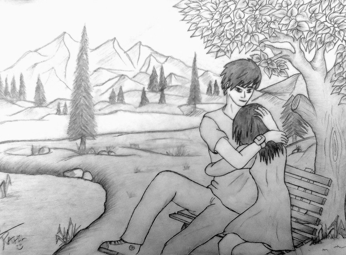 Beautiful beautiful of couples sketch beautiful pencil sketches of love barbie couple beautiful pencil photo beautiful