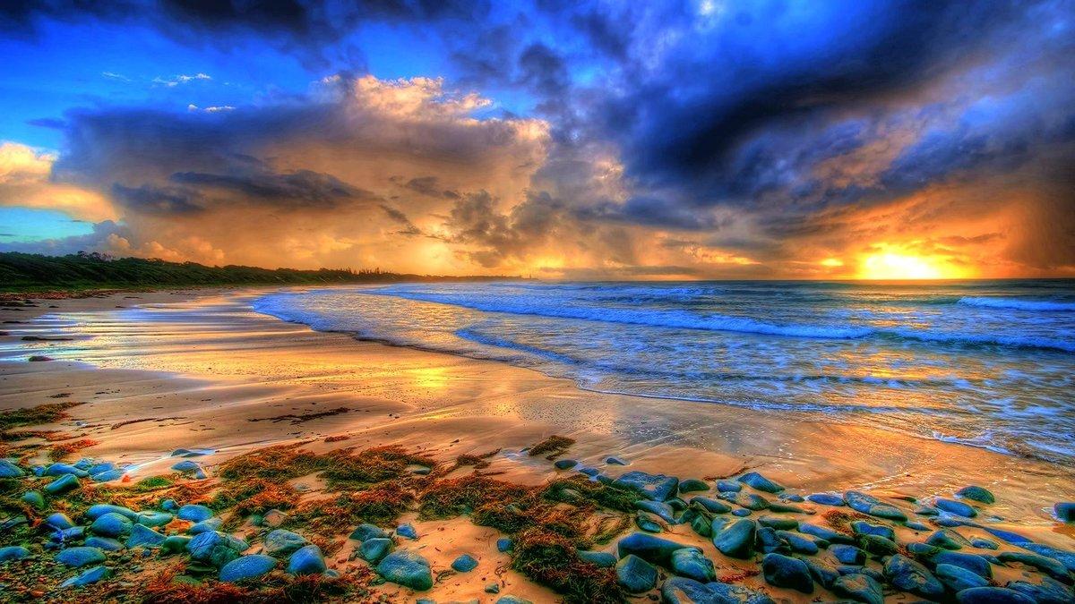 Цветное море картинки