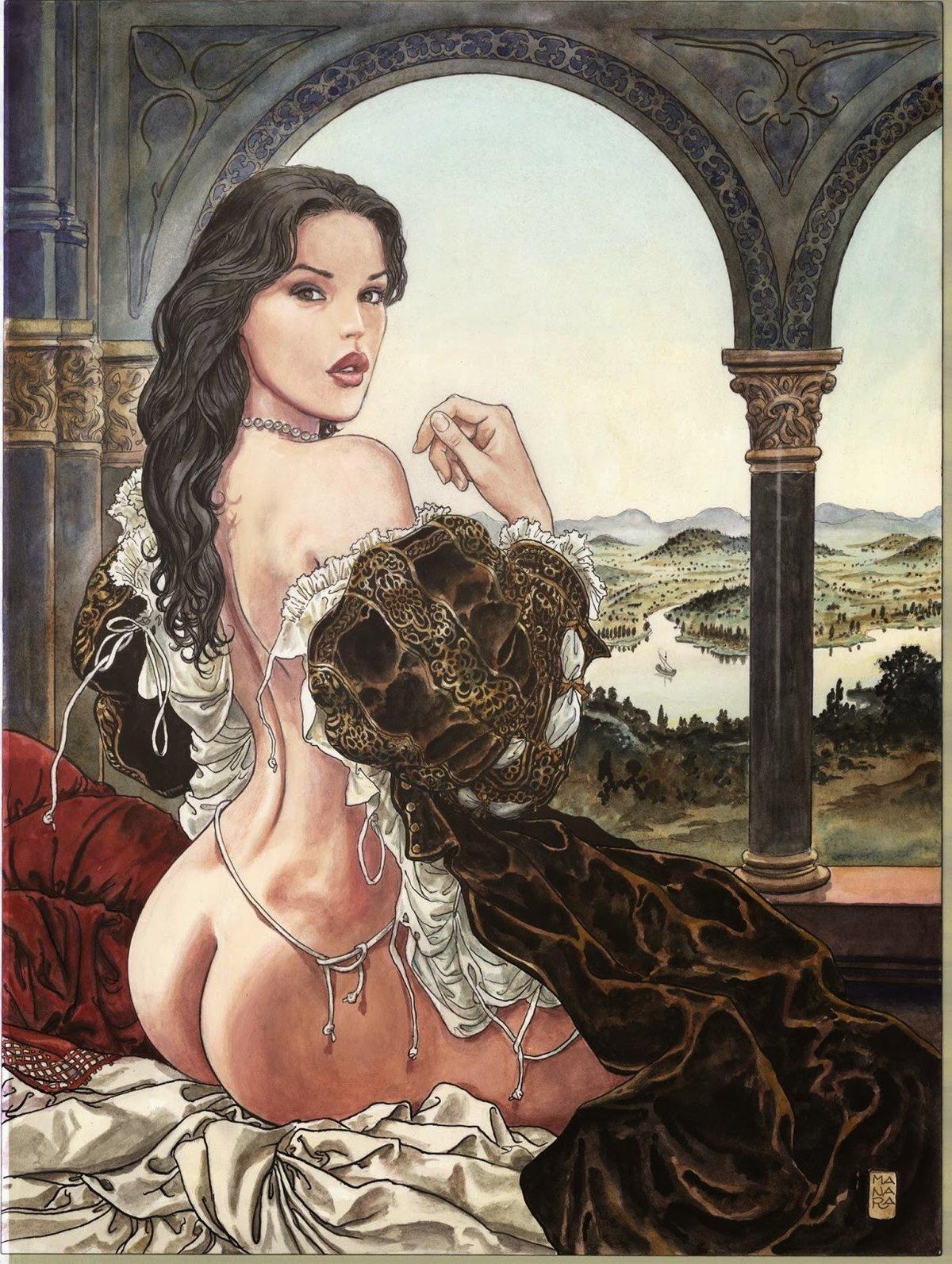 Телки смотрят эксклюзивное рисованное эротика