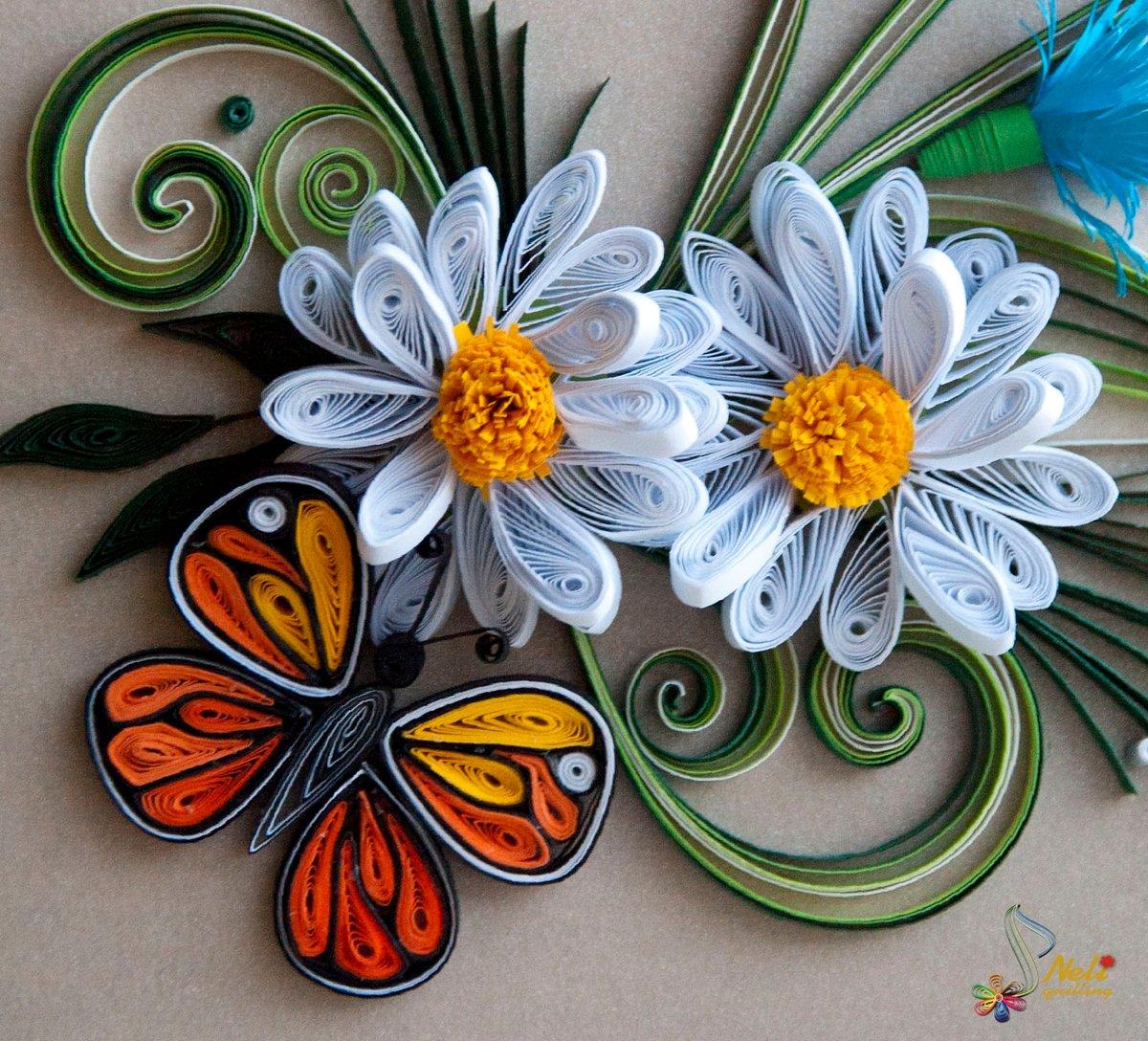 всего цветы из квиллинга картинки для начинающих земля родит рожь
