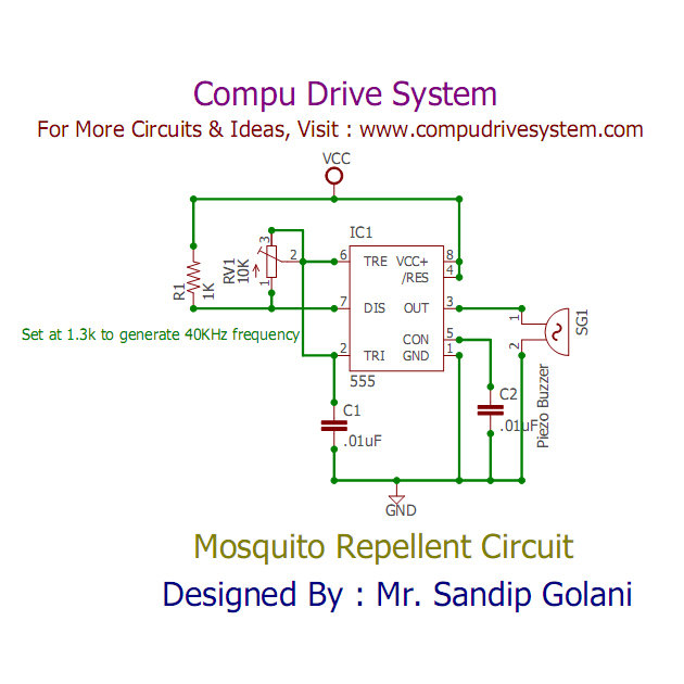 Marvelous Mosquito Repellent Circuit Wiring Digital Resources Antuskbiperorg