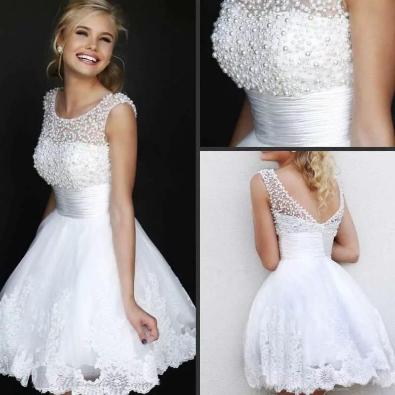 5184f1da283 Коктейльные свадебные платья - 31 фото Коктейльные свадебные платья - 31  фото
