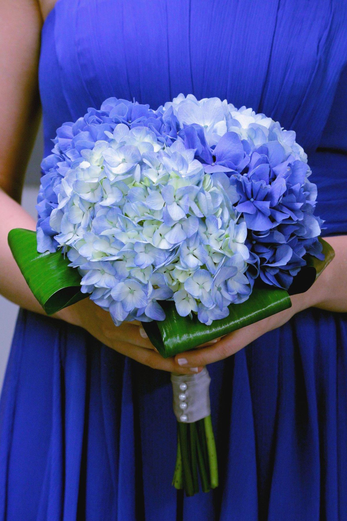Букет к свадьбе из синих цветов, доставка цветов эстонии