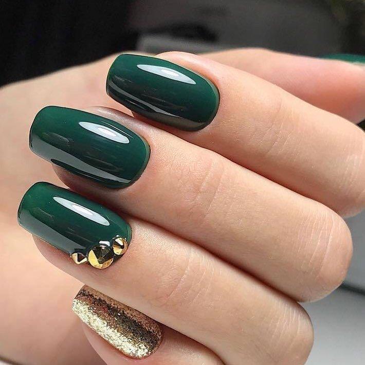 зеленые ногти дизайн фото шеллак купить нарциссы