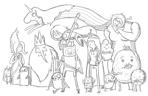 коллекция Adventure Time время приключений пользователя