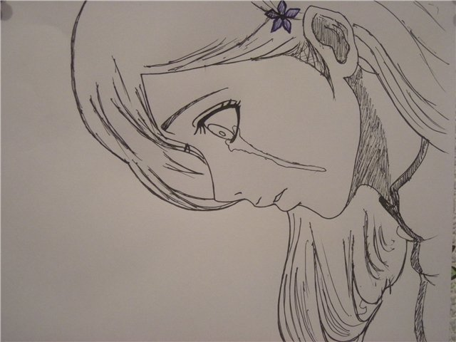 Милые арты аниме девушек