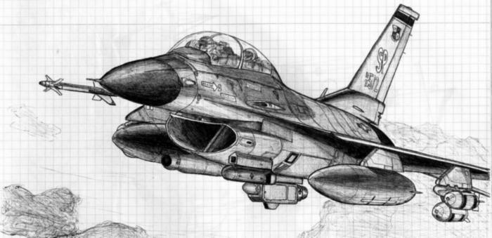 картинки танков карандашом самолеты делать