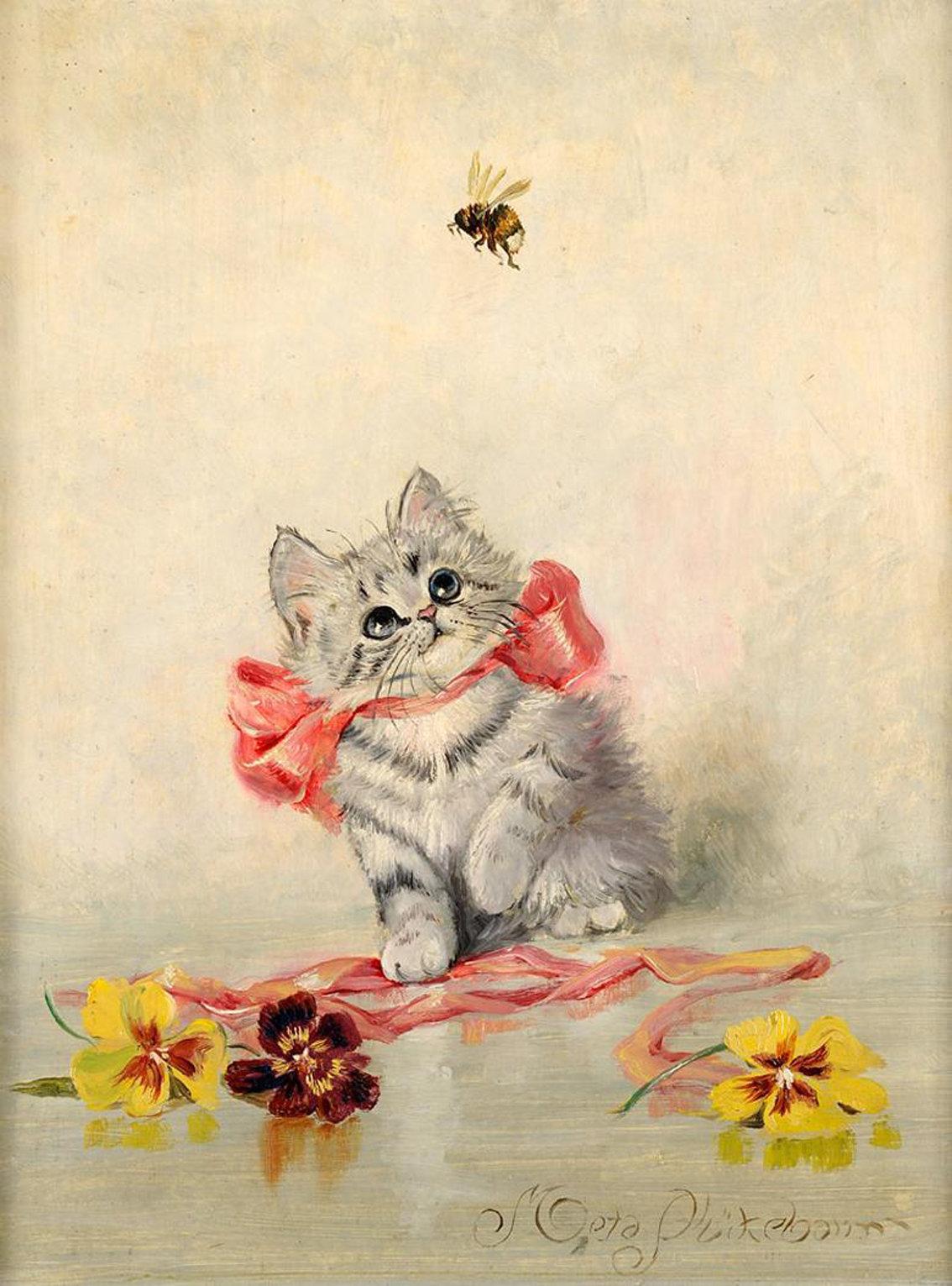 Милые открытки с котятами