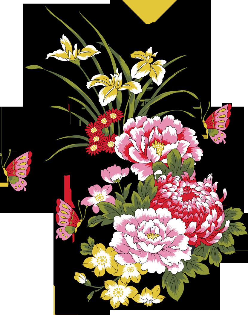 Обиды, картинка с цветами рисунок