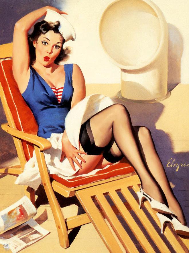 Картинки в американском стиле 50-х, дорогие почтовые
