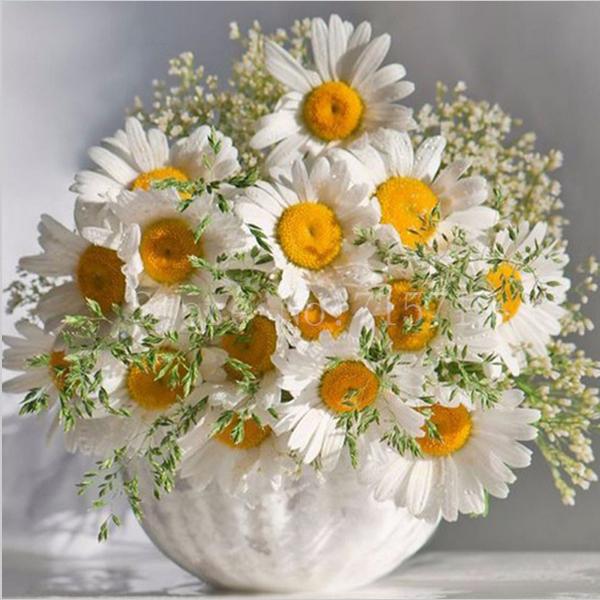 Открытка с днем рождения полевые цветы с надписями