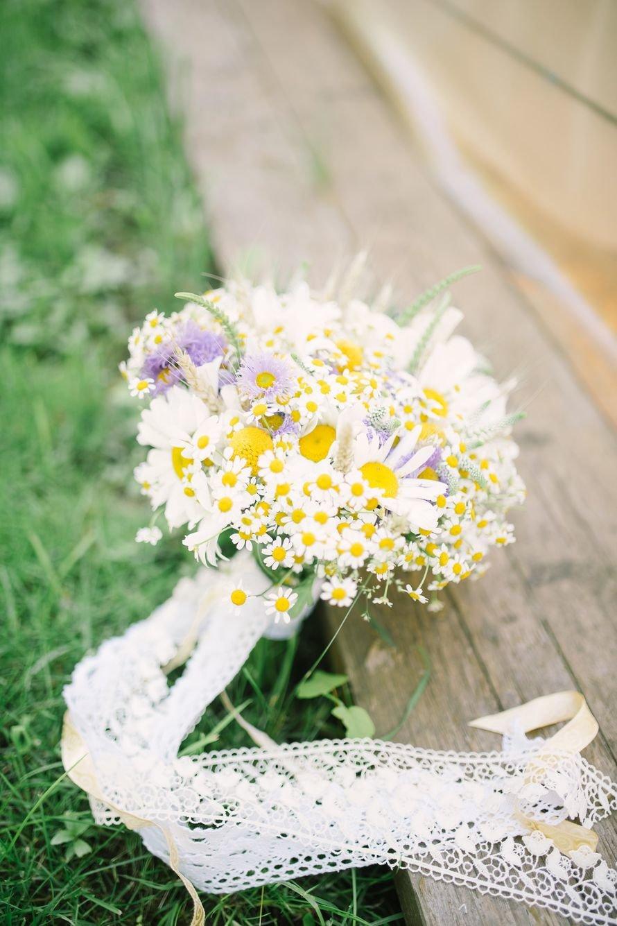 Ромашка в букете невесты, цветов черкизово букет