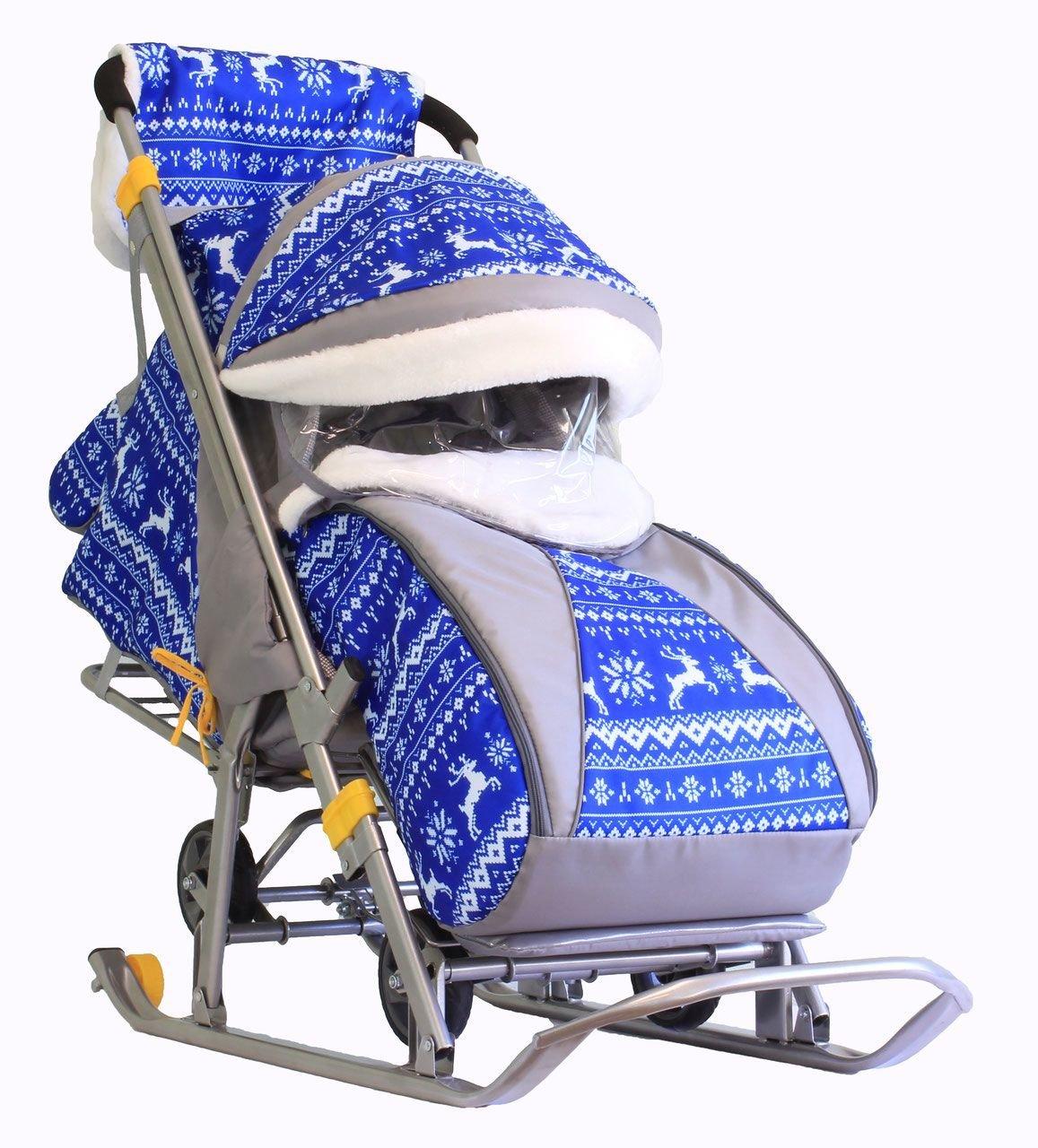 купить зимние санки коляска