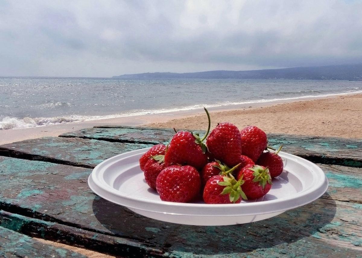 Картинки с добрым утром море фрукты