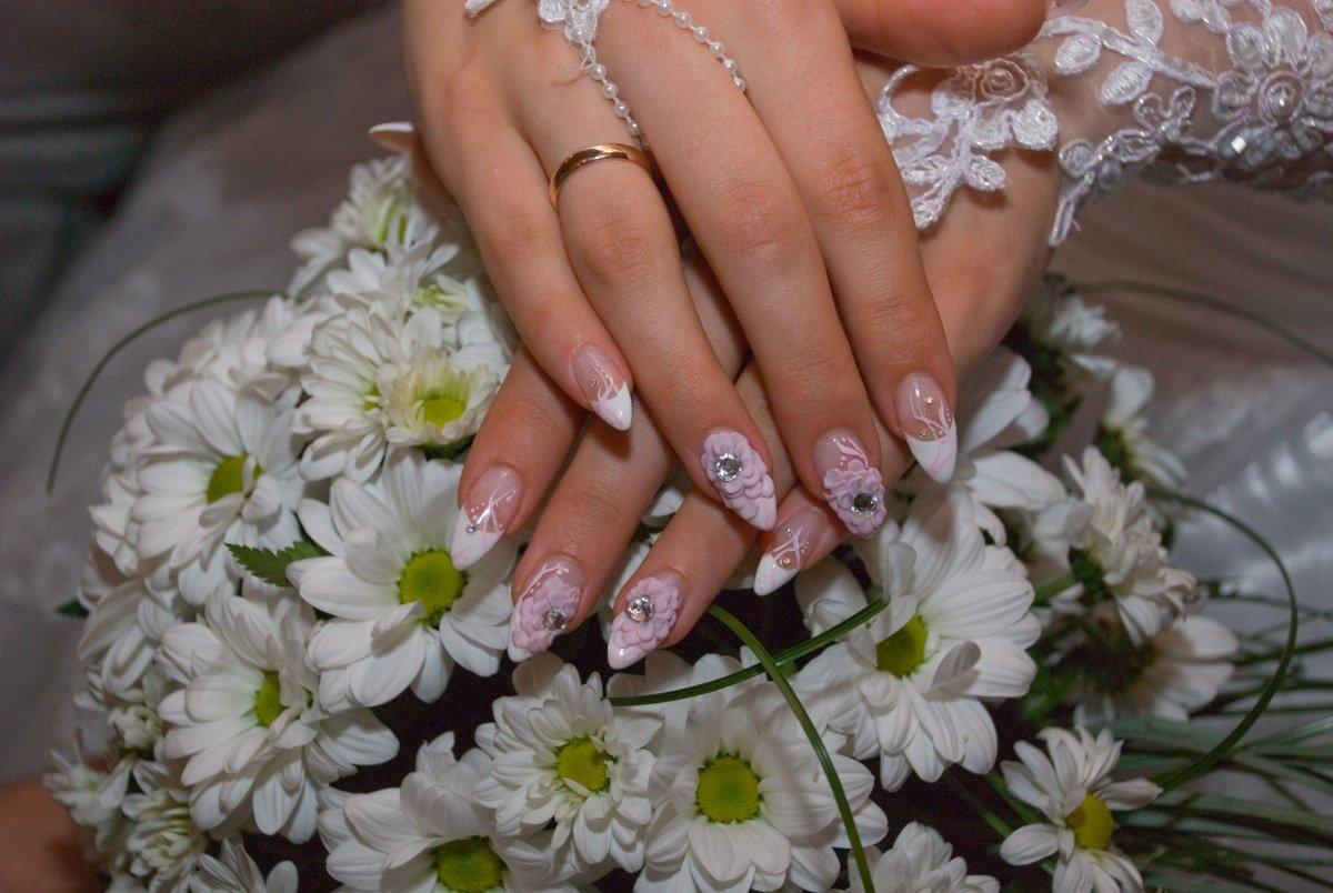 Ногти в картинках на свадьбу
