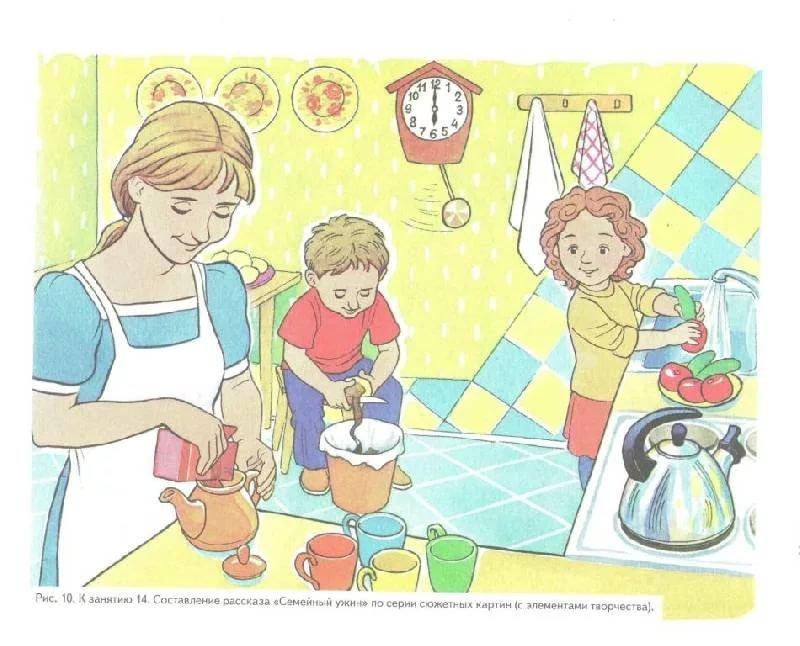 Месяцами, мама в картинках для дошкольников