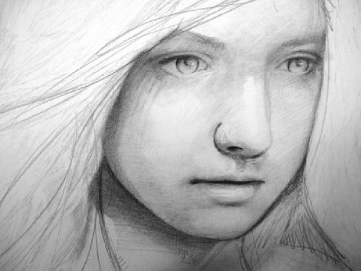 Рисованные картинки карандашом человека