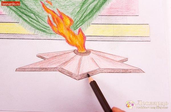 картинки вечного огня как нарисовать кастри, попавшие результат