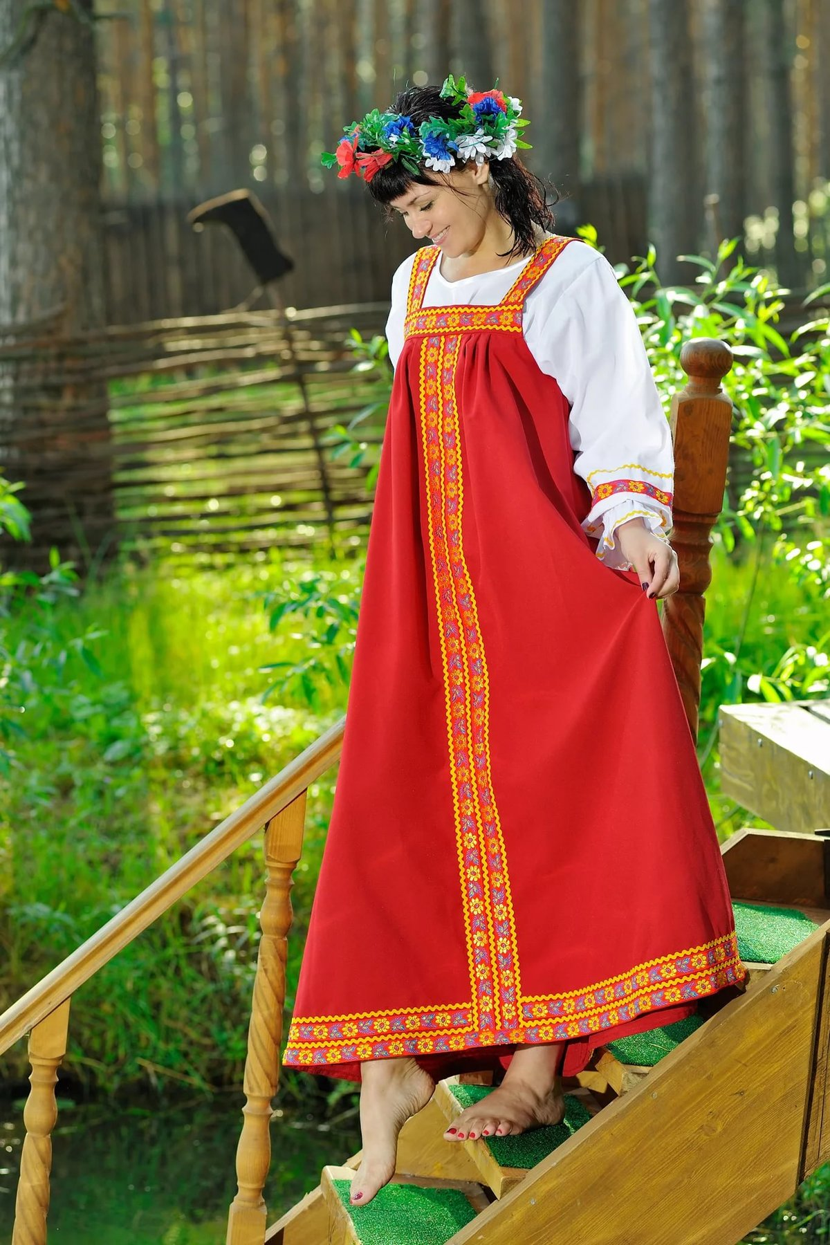 русские народные костюмы фото или картинки общем