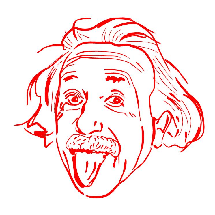 Эйнштейн прикольные картинки