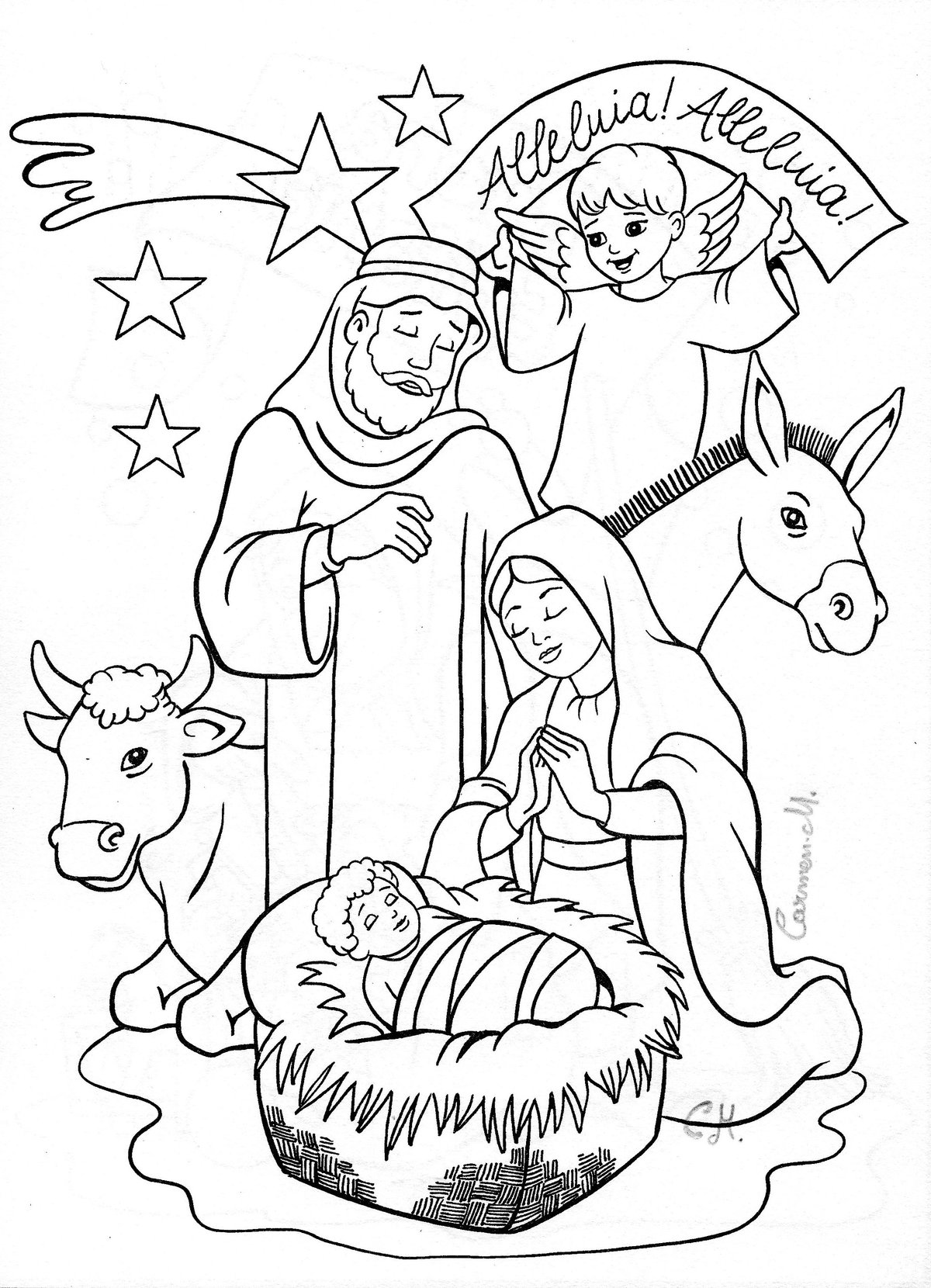 Картинки к рождеству простые