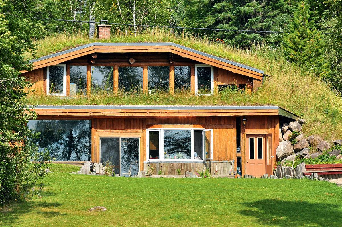 постройка дома в земле фото эндемик