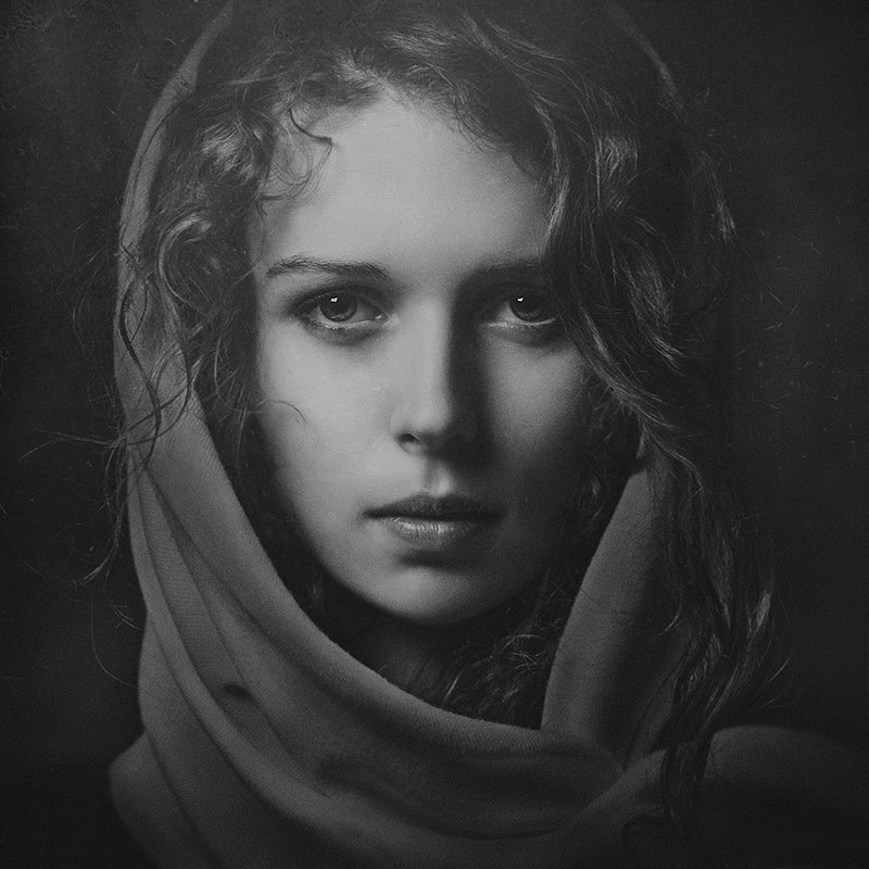 художественный фотопортрет женский представляет собой