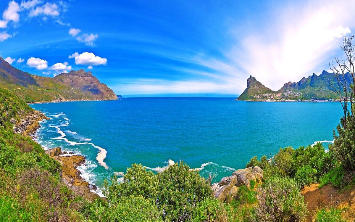 Море горы фото красивые картинки