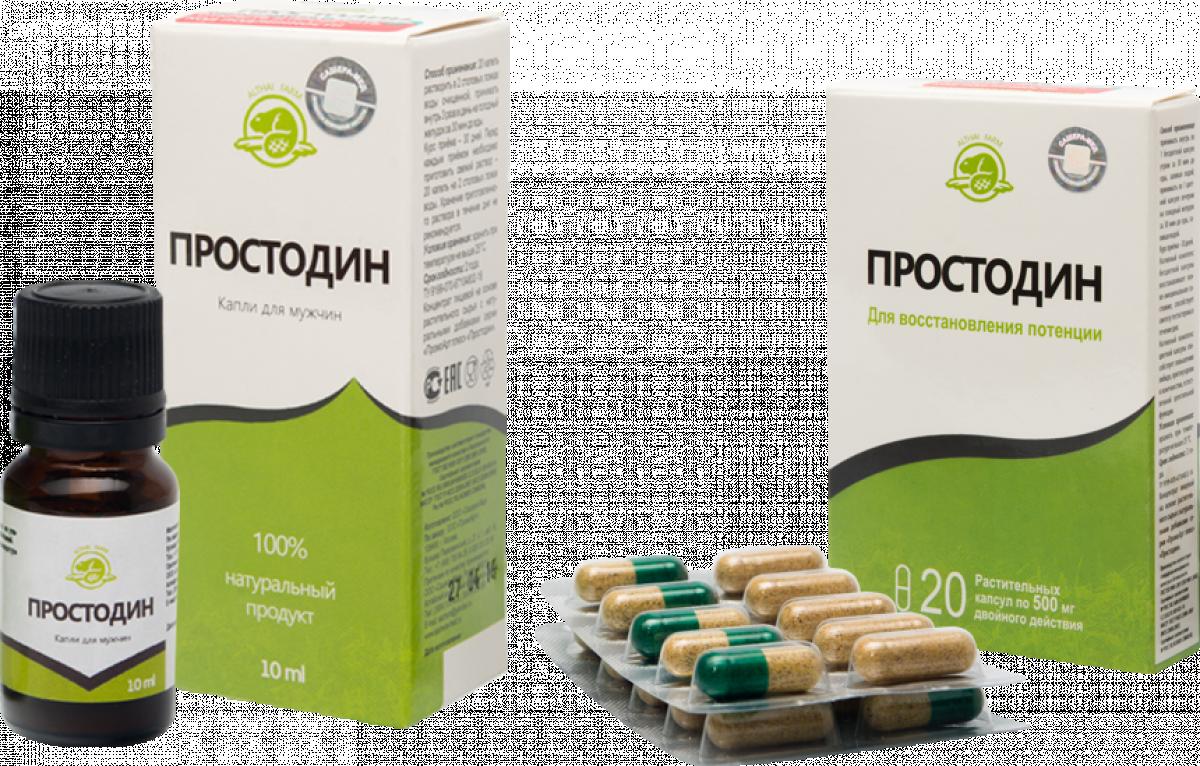 Простодин - капли от простатита в Вышнем