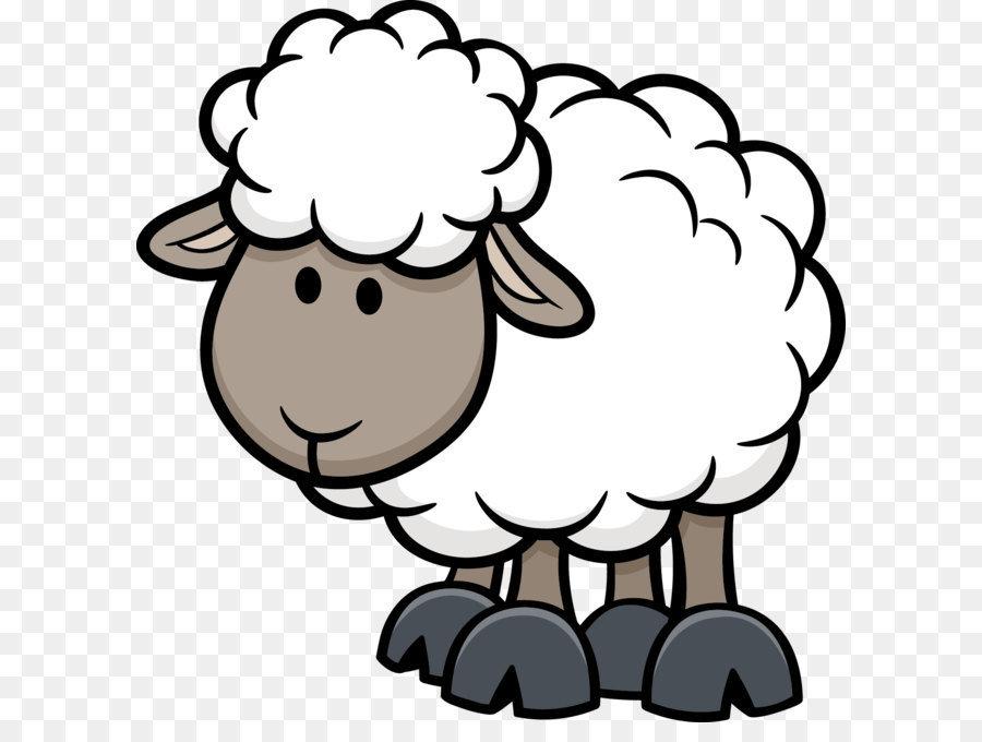 Картинки овечка для детей нарисованные