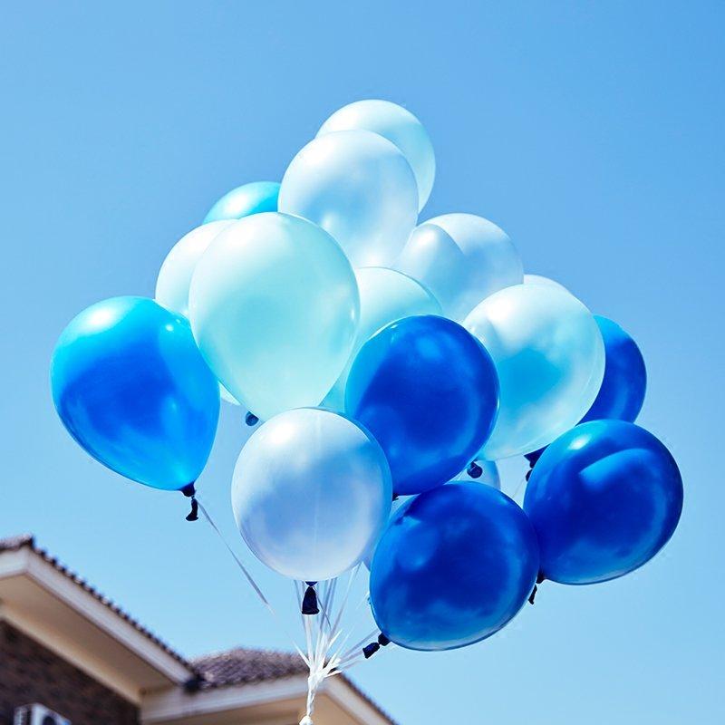 она картинки воздушных разноцветных шаров голубых представляет собой